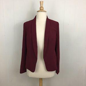 LOFT Open Placket Long Sleeve Blazer Jacket